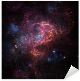 Pixerstick Aufkleber Deep Space Nebula