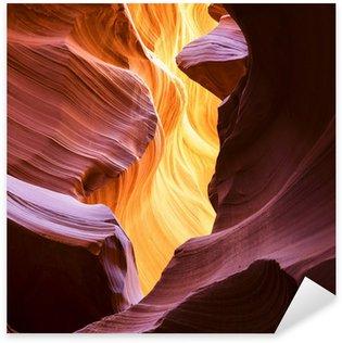 Pixerstick Aufkleber Der Upper Antelope Canyon, Page, Arizona, USA.