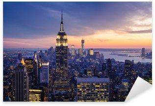Pixerstick Aufkleber Die stadt new york