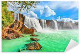 Pixerstick Aufkleber Dry Nur Wasserfall