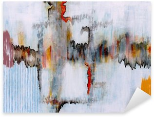 Pixerstick Aufkleber Eine abstrakte Malerei