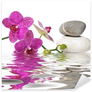 Pixerstick Aufkleber Einfach schöne Orchideen