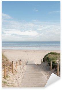 Pixerstick Aufkleber Eingang zum Strand 02