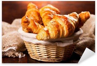 Pixerstick Aufkleber Frische Croissants