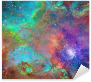 Pixerstick Aufkleber Galactic Weltraum