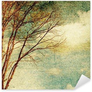 Pixerstick Aufkleber Grunge Jahrgang Natur Hintergrund