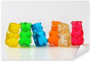 Pixerstick Aufkleber Gummy bears
