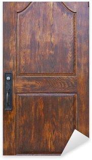 Pixerstick Aufkleber Historische Holztür