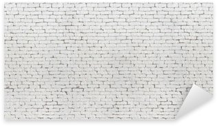 Pixerstick Aufkleber Hochauflösende weiße Wand und Boden strukturierten Hintergrund