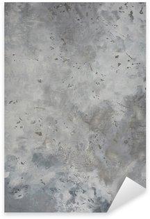 Pixerstick Aufkleber Hohe Auflösung raue graue strukturierte Grunge Betonwand,