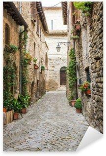 Pixerstick Aufkleber Italienisch romantische Gasse