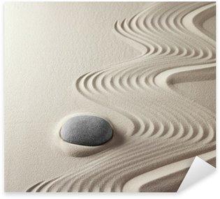 Pixerstick Aufkleber Japanischen Zen-Garten