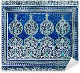 Pixerstick Aufkleber Kacheln Hintergrund mit orientalischen Ornamenten