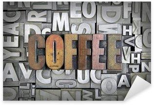 Pixerstick Aufkleber Kaffee