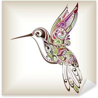 Pixerstick Aufkleber Kolibri