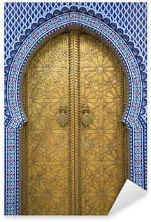 Pixerstick Aufkleber Königspalast in Fes, Marokko