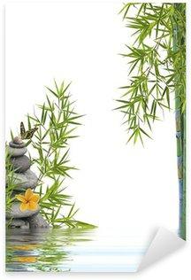 Pixerstick Aufkleber Konzept Natur-Entspannung, Wohlbefinden, Entspannung