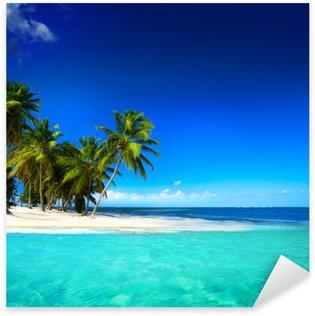 Pixerstick Aufkleber Kunst schönen Meerblick Hintergrund