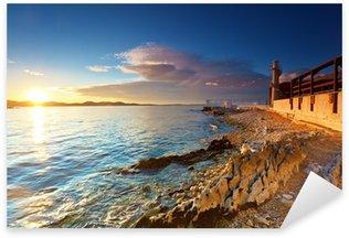 Pixerstick Aufkleber Leuchtturm in Zadar
