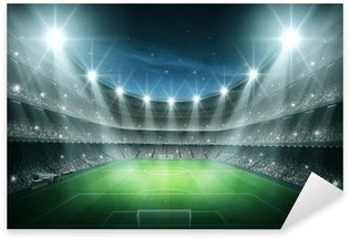 Pixerstick Aufkleber Licht des Stadions