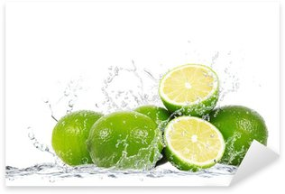 Pixerstick Aufkleber Lime splash