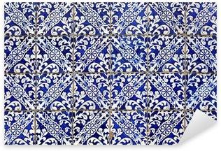 Pixerstick Aufkleber Lissabon azulejos