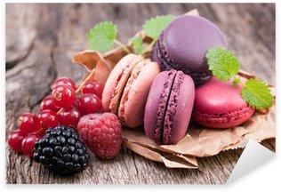 Pixerstick Aufkleber Macarons, Waldfrucht