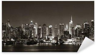 Pixerstick Aufkleber Midtown Manhattan Skyline