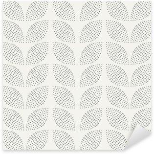 Pixerstick Aufkleber Nahtlose Muster. Handgemalt. Blume. Hintergrund-Design