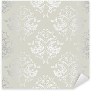 Pixerstick Aufkleber Nahtlose wallpaper.damask pattern.floral Hintergrund