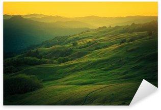 Pixerstick Aufkleber Northern California Landschaft