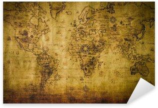 Pixerstick Aufkleber old map