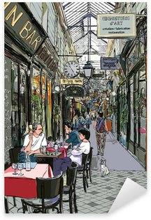 Pixerstick Aufkleber Passage in Paris