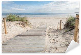 Pixerstick Aufkleber Pfad zum Strand
