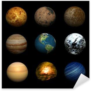 Pixerstick Aufkleber Planets