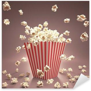 Pixerstick Aufkleber Popcorn Fliegen