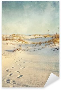 Pixerstick Aufkleber Sand Dunes at Sunset strukturiertes Bild