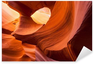Pixerstick Aufkleber Sandsteinbeschaffenheit in Antelope Canyon, Page, Arizona