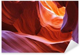 Pixerstick Aufkleber Scenic Canyon Antelope