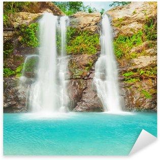Pixerstick Aufkleber Schöner Wasserfall