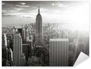 Pixerstick Aufkleber Skyline new york