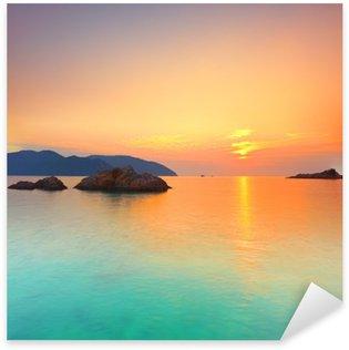 Pixerstick Aufkleber Sonnenaufgang