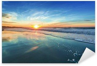 Pixerstick Aufkleber Sonnenuntergang