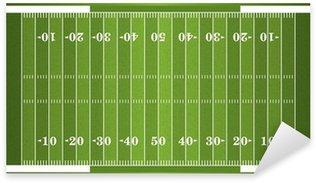 Pixerstick Aufkleber Strukturierte Grass American Football Field