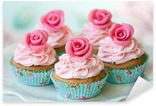 Pixerstick Aufkleber Vintage Cupcakes