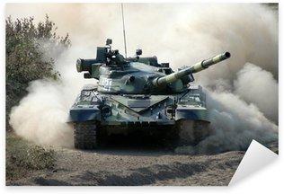 Pixerstick Aufkleber War. Panzer in Bewegung