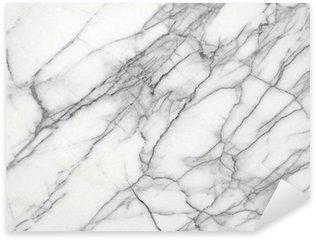 Pixerstick Aufkleber Weißer Marmor (High.Res.)