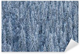 Pixerstick Aufkleber Winterwaldp