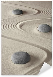 Pixerstick Aufkleber Zen garden