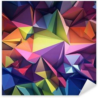 Autocolante Pixerstick Abstract geometric background